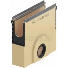 ACO Multiline Seal in gružu ķērājs 50cm V100S DN 110 type 0-10 ar blīvgumiju