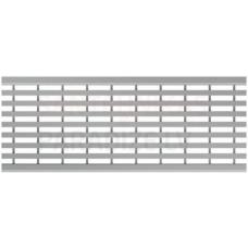 ACO Multiline Seal in lietus kanāla Garenvirziena režģis 0,5m B125 nerūsējošs tērauds