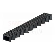 ACO Hexaline kanāls ar plastikāta režģi 1000mm