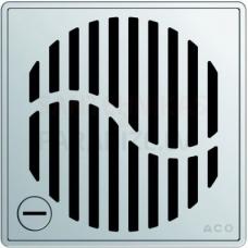 ACO EasyFlow Wave dušas trapa režģis 140 x 140 mm, noslēdzams