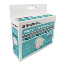 JUF-1 respirators FFP2 iepakojums 10 gab.