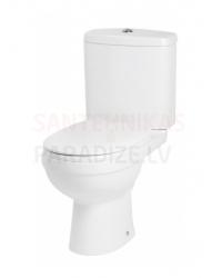 AM PM WC tualetes pods ar vāku Soft Close JOY (horizontalais izvads sienā)