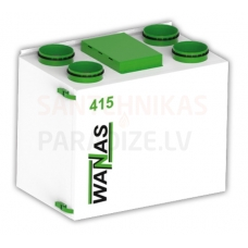 WANAS rekuperators BASIC 415 V