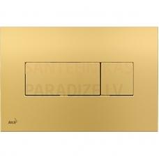Alcaplast Poga skalojamai kastei iebūv. zelta M375