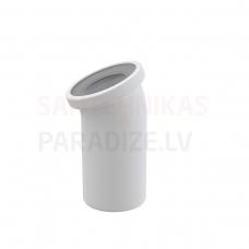 Alcaplast Sēdpoda līkums 22° balts A90-22 240×110×135 mm