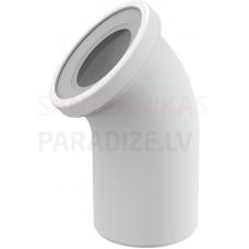 Alcaplast Sēdpoda līkums 45 balts A90-45 240×110×135 mm