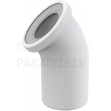 Alcaplast Sēdpoda līkums 90 balts A90-90 260×110×135 mm