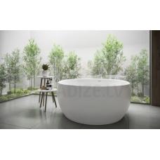 AQUATICA brīvi stāvoša vanna AURA ROUND 160x160 (balta)