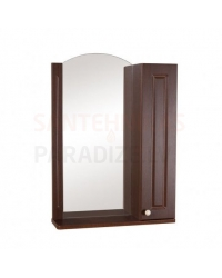Aqua Rodos Classic  60 (R) шкаф зеркало (орехоный)