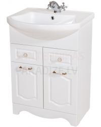 Aqua Rodos Classic  60 шкафчик с раковиной  (белый)