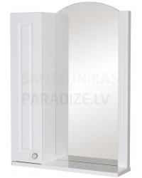 Aqua Rodos Classic  60 (L) шкаф зеркало (белый)