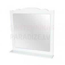 Aqua Rodos Classic  65 Spogulis ar plauktu (balts)