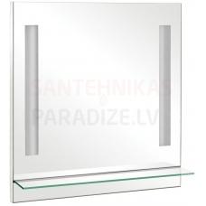 Aqua Rodos Milano 75 Spogulis ar plauktu