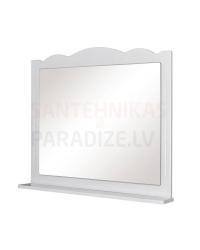 Aqua Rodos Classic 100 Зеркало с полкой (белый)