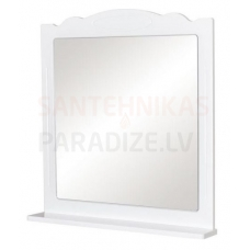Aqua Rodos Classic  80 Spogulis ar plauktu (balts)