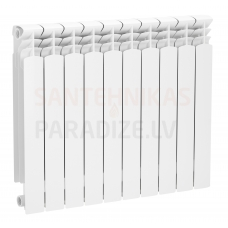 KFA alumīnija radiators G600F ( 4 ribas/sekcijas)