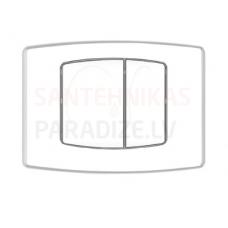 KPOL M02 sienā iebūvējama poda poga (balta)