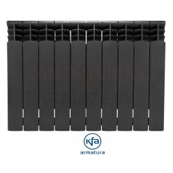 KFA alumīnija radiatori G500F BLACK ANTRICYT DECOR