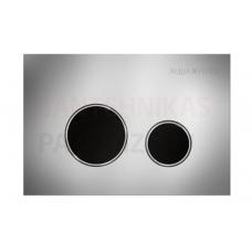 KKPOL M11V1 sienā iebūvējama poda poga (hroms/melns)