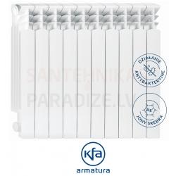 KFA higiēniski alumīnija radiatori G500F SILVER IONS