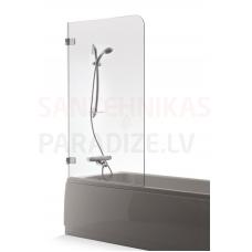 Baltijos Brasta vannas siena GAJA caurspīdīgs stikls 150x70