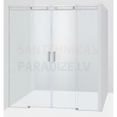 Baltijos Brasta dušas durvis GABIJA PLUSS caurspīdīgs stikls 200x140