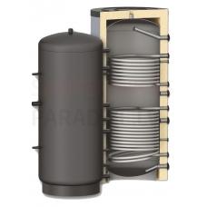 BURNIT akumulācijas tvertne PR2  300 ar diviem siltummaiņiem