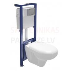 CERSANIT WC iebūvējamā montāžas rāmja komplekts HIT