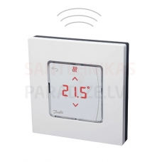 Danfoss istabas termostats ICON ar displeju, bezvadu, virsapmetuma