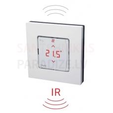 Danfoss istabas termostats ICON ar displeju, bezvadu, virsapmetuma un ar grīdas infrasarkano temperatūras sensoru