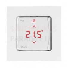 Danfoss istabas termostats ar displeju ICON virsapmetuma 24V 5-35°C 86x86