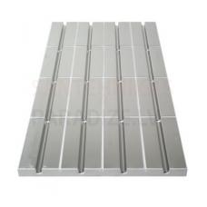 Danfoss (SpeedUp) apsildes panelis ar alumīniju 1000x500x30mm, 125mm EZ