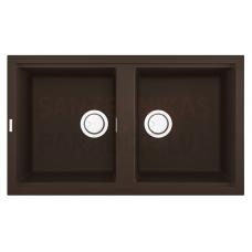 ELLECI akmens masas virtuves izlietne BEST 450 Espresso 86x51 cm