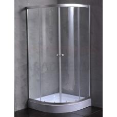 ETOVIS dušas kabīne ET-8204 hroms + caurspīdīgs stikls 90x90x180