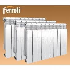 FERROLI alumīnija radiators POL  98x432х 240 ( 3 ribas/sekcijas)