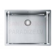 FRANKE nerūsejošā tērauda virtuves izlietne ar pogu BOX 58x45 cm