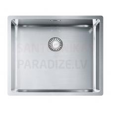 FRANKE nerūsejošā tērauda virtuves izlietne ar pogu BOX 54x45 cm