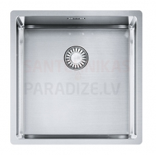 FRANKE nerūsejošā tērauda virtuves izlietne ar pogu BOX 44x45 cm