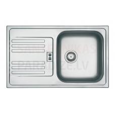 FRANKE nerūsejošā tērauda virtuves izlietne EUROFORM 78x47.5 cm