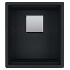 FRANKE akmens masas virtuves izlietne KUBUS 2 Melns mattēts 41x46 cm