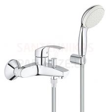 GROHE vannas jaucējkrāns Eurosmart New ar dušas komplektu