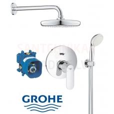 GROHE zemapmetuma dušas jaucējkrāns Eurosmart Cosmo ar dušas komplektu