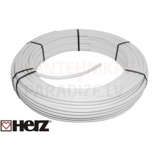 HERZ silto grīdu daudzslāņu caurule PE-RT/AL/PE-RT (cena par 1 metru) 16x2