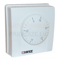 HERZ mehāniskais, bimetāla telpas temperatūras sensors 230 V/24V