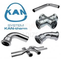 KAN-therm Steel presējamie veidgabali