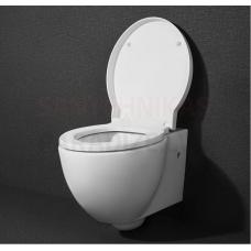 KAME WC piekaramais tualetes pods OVALO bez vāka