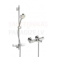 Oras termostata dušas jaucējkrāns ar dušas komplektu SAFIRA 1348U