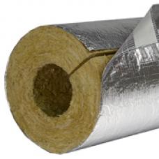 Cauruļu izolācijas čaula ar alumīnija foliju 108x100x1200mm 1gab