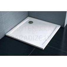 Ravak dušas paliktnis kvadrātveida no lietā marmora Perseus Pro 1000x1000