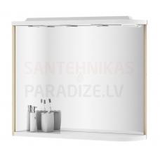 Ravak spogulis Rosa M 780 L (bērzs/balta)